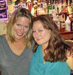 Mary Jansen and Kirstin Smith